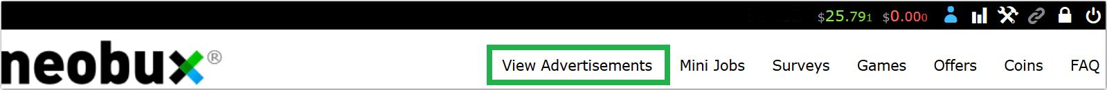 Klikanie w reklamy na Neobuxie