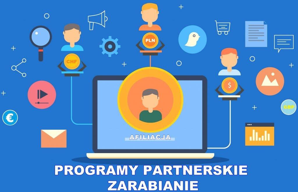 PROGRAMY PARTNERSKIE - CO TO JEST - OPINIE - ZARABIANIE
