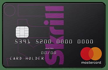 Skrill - karta Mastercard