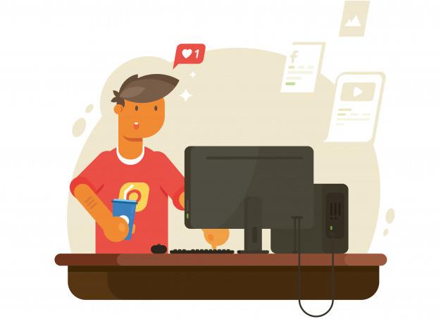 Zarabianie przez media społecznościowe - praca dla nieletnich